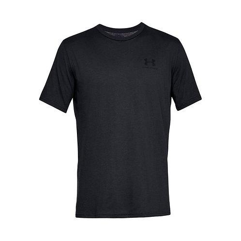 Camiseta Algodón Under Armour Negro 1326799-001