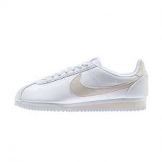 Tenis Nike Classic Cortez Leather Blanco Beige 807471-109