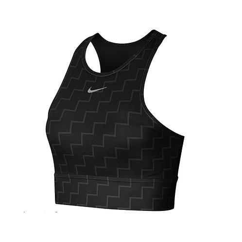 Top Nike Negro Estampado CJ0729-010