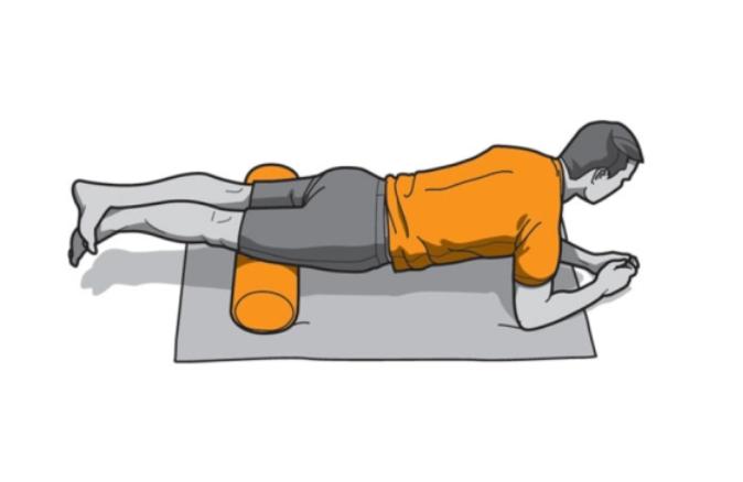Foam Roller ejercicio cuadriceps