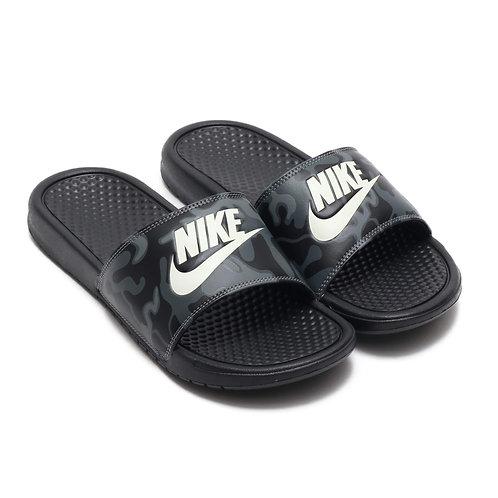 Chanclas Nike  Benassi JDI Print Negra 631261-013