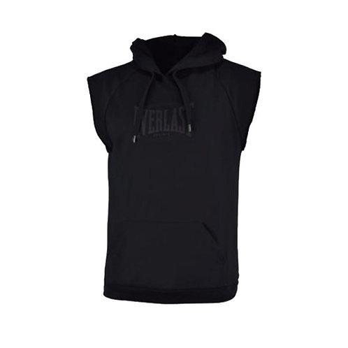 Camiseta Hoodie negra capota Everlast - EV60NAM721