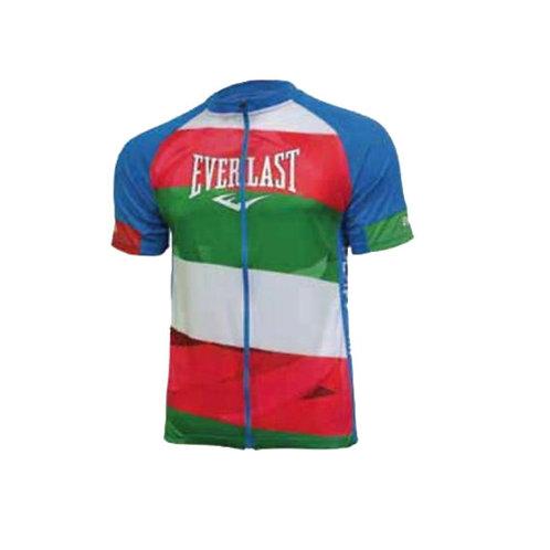Jersey hombre Ciclismo Rojo, Verde Blanco  - EV77XBM907
