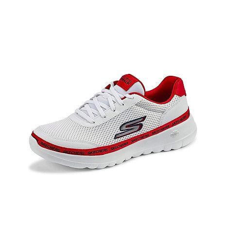 Tenis Skechers blanco con rojo GoWalk Joy - 124088-WRD