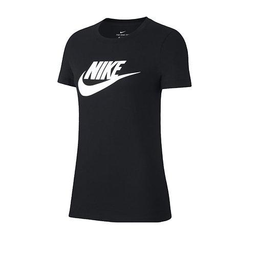 Camiseta Nike Negra estampada logo -BV6169-010