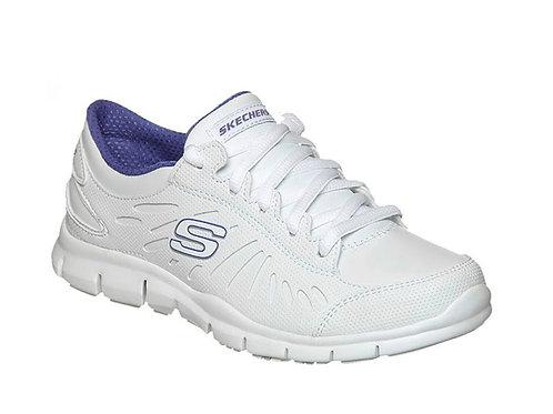 Tenis Skechers Blanco Dama 22165WPR