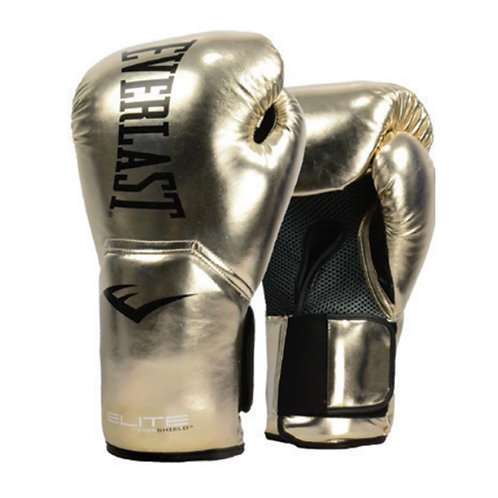 Guantes de Boxeo Pro Style Elite Everlast Dorados P00SM10GL
