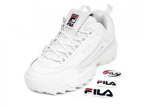 Tenis Fila Disruptor II Patches