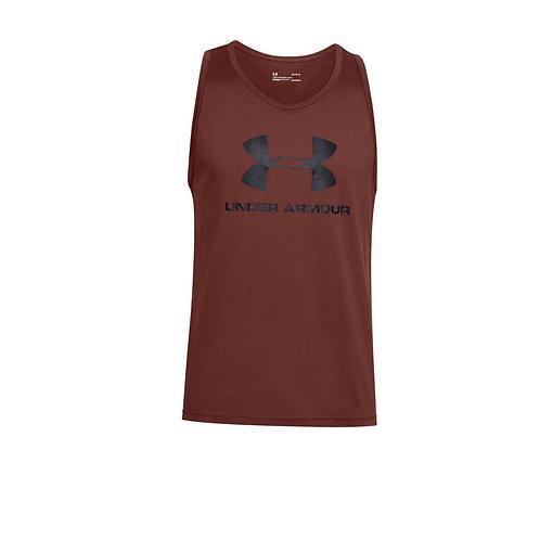 Camiseta Under Armour Roja manga sisa 1329589-688