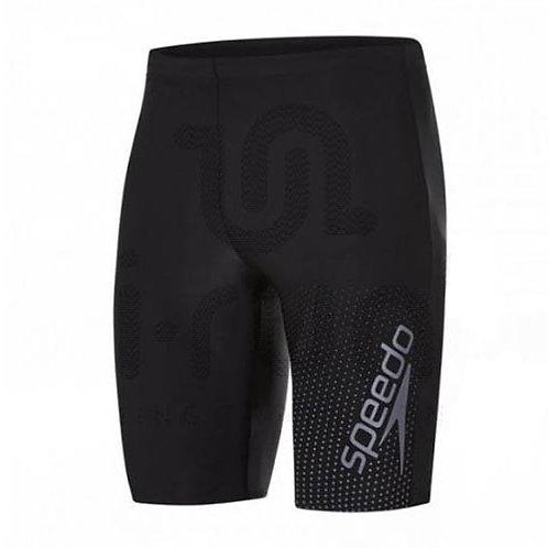 Pantaloneta de baño Gala Jamm Negra Estampada Speedo - 086000