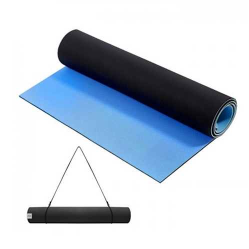Yoga Mat Azul -Negro 6mm - 67131