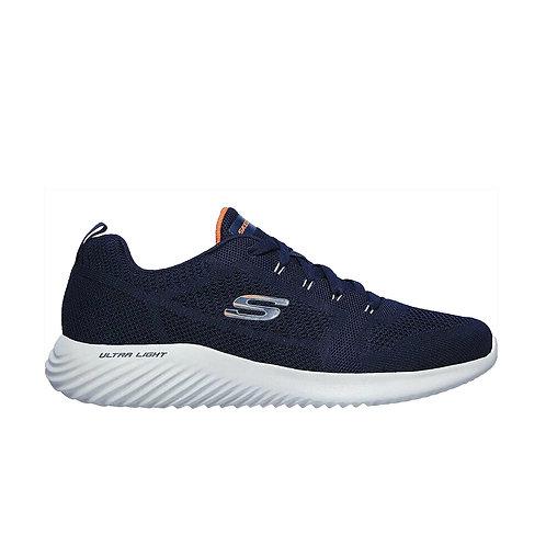 Tenis Skechers  Azul Naranja 232068-NVY