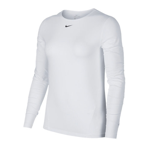 Blusa Blanca Running Nike AO9949-100