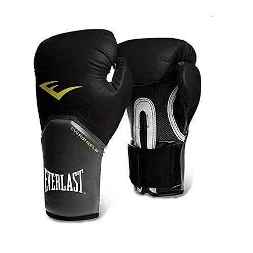 Guantes de boxeo Everlast Negro con Gris 2312-14-16