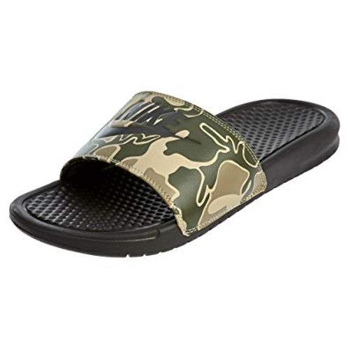 Chanclas Nike Benassi JDI Print verde Militar 631261-202