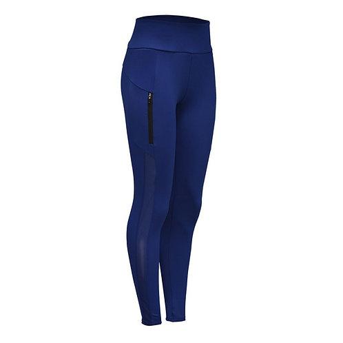 Pantalón Licrado Azul Everlast Mujer  - EV80RAL583