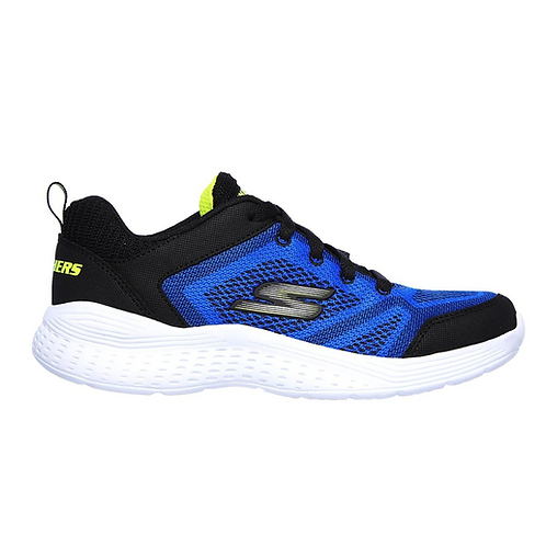 Tenis Skechers junior Negro- azul 97547L-BLBK