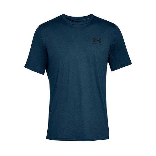 Camiseta Algodón Under Armour Azul 1326799-408