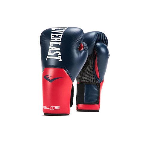 Guantes de boxeo Everlast rojo con azul P00001204