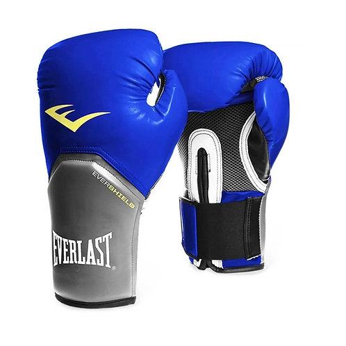 Guantes de boxeo Everlast Azul con Gris 2212-14-16