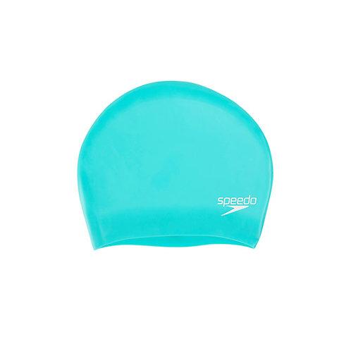 Gorro Natación Speedo long hair Cap verde  6168B961