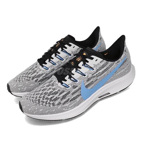 Tenis Nike Air Zoom Pegasus 36 Gris Azul AQ2203-101