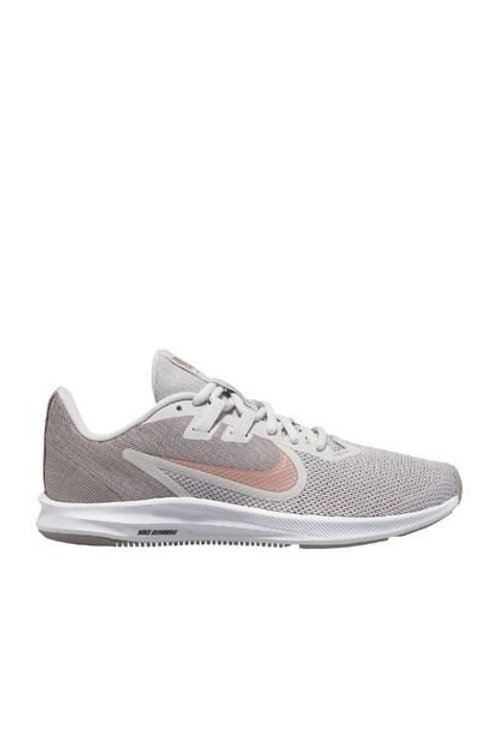 Tenis Nike para mujer Tenis Gris Nike Downshifter 9 AQ7486-008