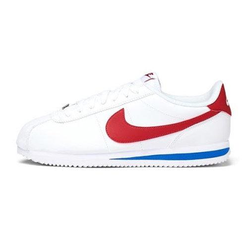 Tenis Nike Cortez leather Blanco, azul,rojo 819719-103
