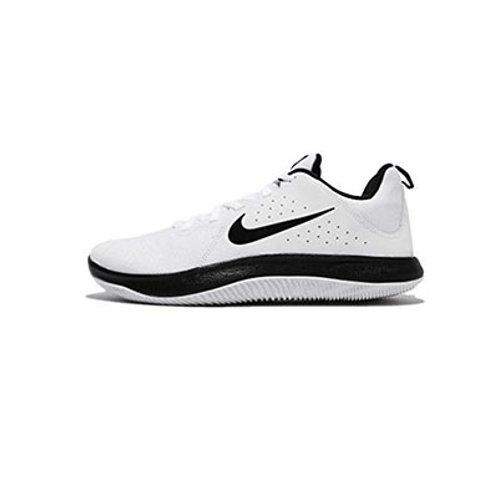 Tenis Nike Basket Fly by Low Blanco- Negro 908973-100