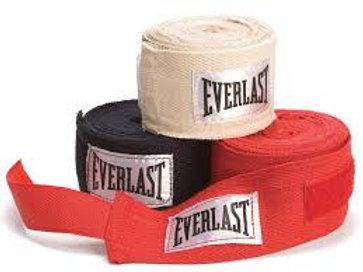 Set 3 vendas Everlast Boxeo 120 pulgadas  4455-4455-3 X3