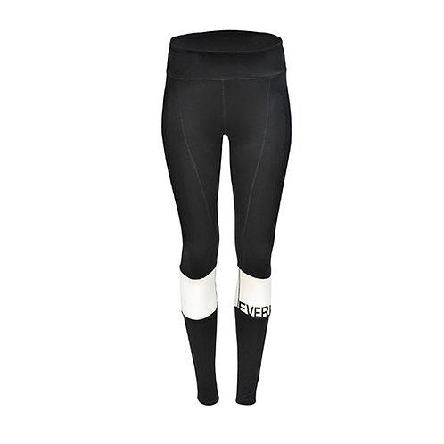 Pantalon licrado negro blanco mujer everlast EV89XAL641
