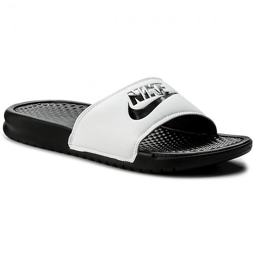 Chanclas Blancas y Negro Nike 343880-100