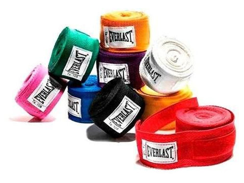 "Vendas Everlast 180"" 1 Par 4456 Colores variados"