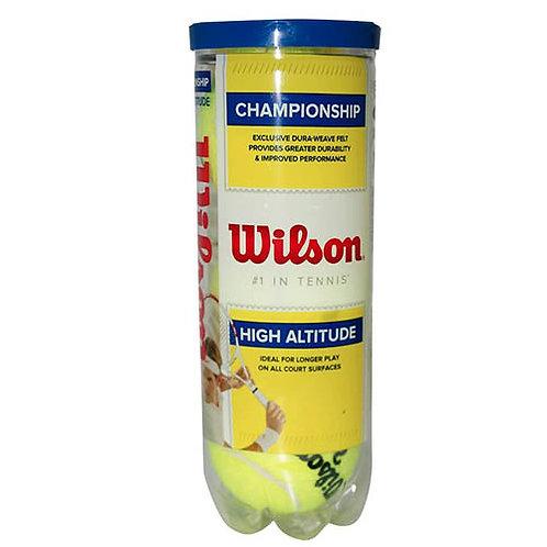 Pelotas de Tenis Championship High altitud tubo x3 unidades