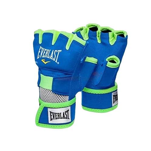 Guantes Boxeo Evergel Azul Verde M 1300005