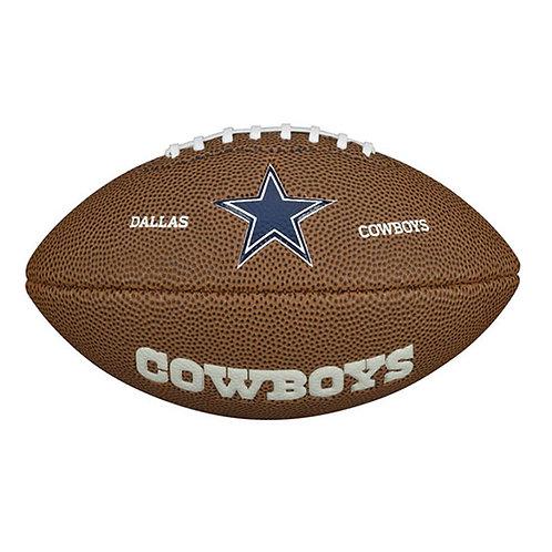 Balón Futbol Americano Mini Dallas Cowboys WTF1533-XBNJ