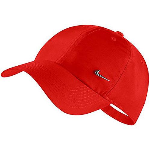 Gorra Algodón Nike Roja -943092-634