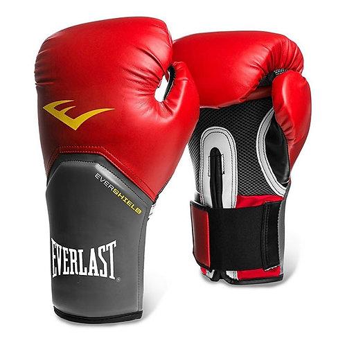 Guantes de boxeo Everlast Rojo con Gris 2112-14-16
