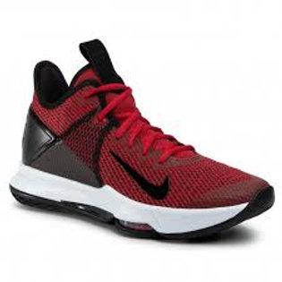 Tenis Nike Lebron Witness IV Rojas Negro  BV7427-002