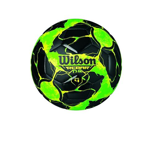 Balón de Futbol Wilson REBAR NG/VRD (NO.4) (E8136)