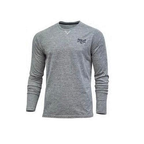 Camiseta hombre gris manga larga Everlast - EV99XBM818