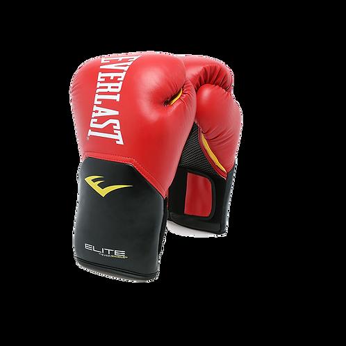 Guantes de boxeo Everlast rojo con Negro POOSM10RD