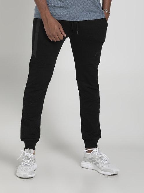 Pantalón negro deportivo algodon EV19NAM211