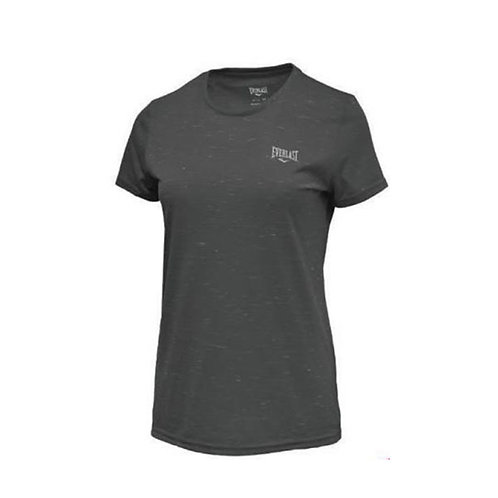 Camiseta negra mujer Everlast EV77HAM201