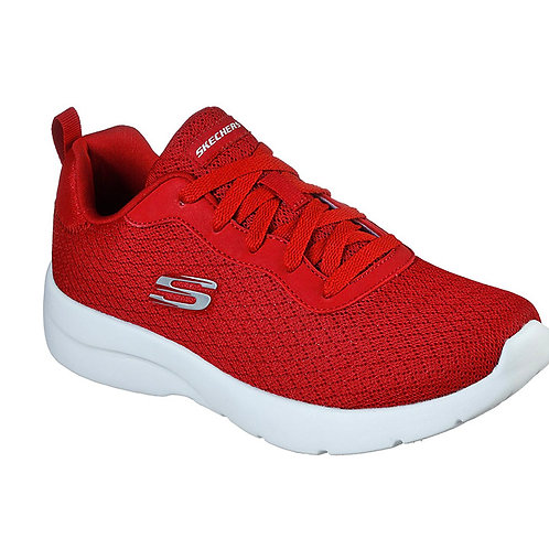 Tenis mujer Skechers Dinamight 12964-RED