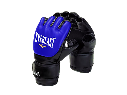 Guantes Everlast MMA Grappling Gloves  - 7560SM-LXL Azul