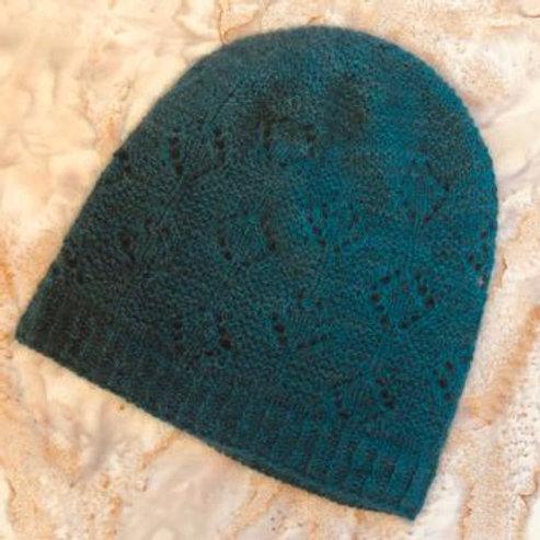Teal Qiviut Hat