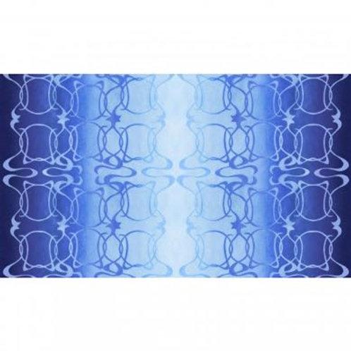 PB Wildlife Nouveau - Blue Swirl