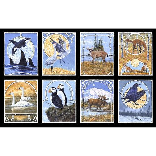 PB Wildlife Nouveau Panel 2