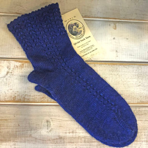 Socks from Qiviut